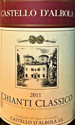 W D'Albola Chianti 2011