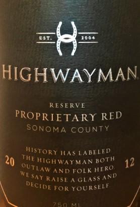 W Highwayman 2012